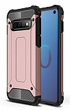 Tough Power Samsung Galaxy S10e Ultra Koruma Rose Gold Kılıf