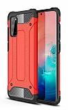 Tough Power Samsung Galaxy S20 FE Ultra Koruma Kırmızı Kılıf