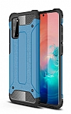 Tough Power Samsung Galaxy S20 FE Ultra Koruma Mavi Kılıf