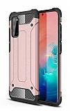 Tough Power Samsung Galaxy S20 FE Ultra Koruma Rose Gold Kılıf