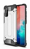 Tough Power Samsung Galaxy S20 FE Ultra Koruma Silver Kılıf
