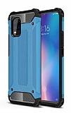 Tough Power Xiaomi Mi 10 Lite Ultra Koruma Mavi Kılıf