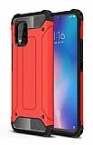 Tough Power Xiaomi Mi 10 Lite Ultra Koruma Kırmızı Kılıf