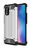 Tough Power Xiaomi Mi 10 Lite Ultra Koruma Silver Kılıf