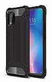 Tough Power Xiaomi Mi 10 Lite Ultra Koruma Siyah Kılıf