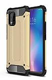 Tough Power Xiaomi Mi 10 Lite Ultra Koruma Gold Kılıf
