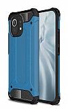 Tough Power Xiaomi Mi 11 Ultra Koruma Mavi Kılıf
