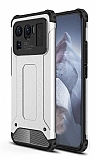 Tough Power Xiaomi Mi 11 Ultra Süper Koruma Silver Kılıf