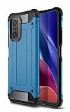 Tough Power Xiaomi Mi 11i Ultra Koruma Mavi Kılıf