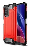 Tough Power Xiaomi Mi 11i Ultra Koruma Kırmızı Kılıf