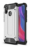 Tough Power Xiaomi Mi A2 Ultra Koruma Silver Kılıf