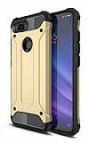 Tough Power Xiaomi Mi 8 Lite Ultra Koruma Gold Kılıf