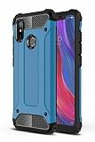 Tough Power Xiaomi Mi 8 SE Ultra Koruma Mavi Kılıf