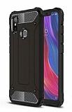 Tough Power Xiaomi Mi 8 Ultra Koruma Siyah Kılıf