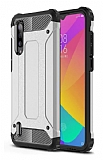 Tough Power Xiaomi Mi 9 Lite Ultra Koruma Silver Kılıf