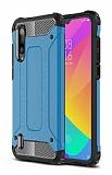 Tough Power Xiaomi Mi 9 Lite Ultra Koruma Mavi Kılıf
