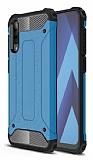 Tough Power Xiaomi Mi 9 SE Ultra Koruma Mavi Kılıf