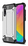 Tough Power Xiaomi Mi A3 Ultra Koruma Silver Kılıf