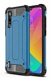 Tough Power Xiaomi Mi A3 Ultra Koruma Mavi Kılıf