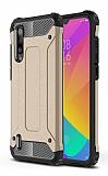 Tough Power Xiaomi Mi A3 Ultra Koruma Gold Kılıf