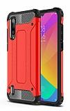 Tough Power Xiaomi Mi A3 Ultra Koruma Kırmızı Kılıf