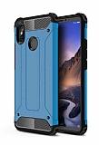 Tough Power Xiaomi Mi Max 3 Ultra Koruma Mavi Kılıf