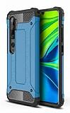 Tough Power Xiaomi Mi Note 10 Pro Ultra Koruma Mavi Kılıf
