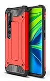 Tough Power Xiaomi Mi Note 10 Pro Ultra Koruma Kırmızı Kılıf
