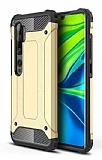 Tough Power Xiaomi Mi Note 10 Pro Ultra Koruma Gold Kılıf