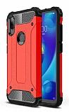 Tough Power Xiaomi Mi Play Ultra Koruma Kırmızı Kılıf