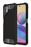 Tough Power Xiaomi Redmi Note 10 5G Ultra Koruma Siyah Kılıf
