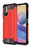 Tough Power Xiaomi Redmi Note 10 5G Ultra Koruma Kırmızı Kılıf
