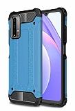 Tough Power Xiaomi Poco M3 Ultra Koruma Mavi Kılıf