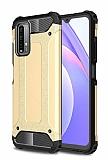 Tough Power Xiaomi Poco M3 Ultra Koruma Gold Kılıf