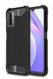 Tough Power Xiaomi Poco M3 Ultra Koruma Siyah Kılıf