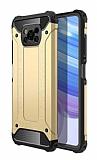 Tough Power Xiaomi Poco X3 Ultra Koruma Gold Kılıf