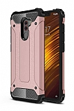 Tough Power Xiaomi Pocophone F1 Ultra Koruma Rose Gold Kılıf