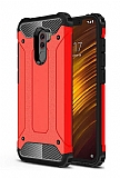 Tough Power Xiaomi Pocophone F1 Ultra Koruma Kırmızı Kılıf