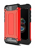 Tough Power Xiaomi Redmi 5A Ultra Koruma Kırmızı Kılıf