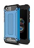 Tough Power Xiaomi Redmi 5A Ultra Koruma Mavi Kılıf