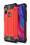 Tough Power Xiaomi Redmi 6 Ultra Koruma Kırmızı Kılıf