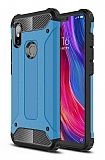 Tough Power Xiaomi Redmi 6 Ultra Koruma Mavi Kılıf