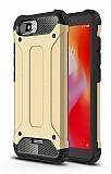 Tough Power Xiaomi Redmi 6A Ultra Koruma Gold Kılıf