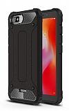 Tough Power Xiaomi Redmi 6A Ultra Koruma Siyah Kılıf