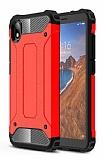 Tough Power Xiaomi Redmi 7A Ultra Koruma Kırmızı Kılıf