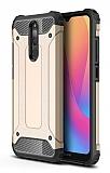 Tough Power Xiaomi Redmi 8 Ultra Koruma Gold Kılıf