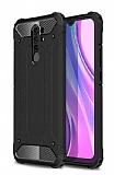 Tough Power Xiaomi Redmi 9 Ultra Koruma Siyah Kılıf
