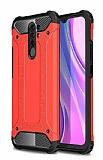 Tough Power Xiaomi Redmi 9 Ultra Koruma Kırmızı Kılıf