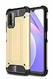 Tough Power Xiaomi Redmi 9T Ultra Koruma Gold Kılıf