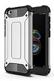 Tough Power Xiaomi Redmi Go Ultra Koruma Silver Kılıf